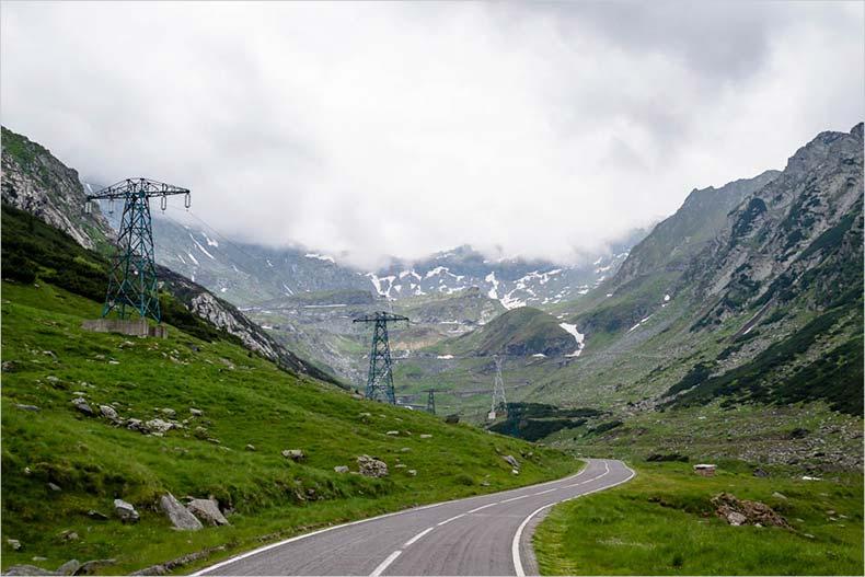 Трансфагарашское шоссе