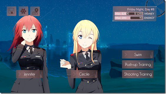 anime dating simulator free online