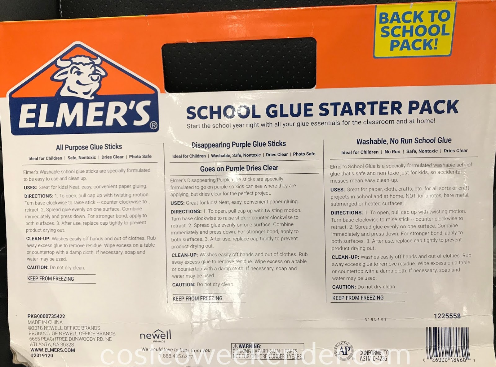 Costco 1225558 - Elmer's Glue School Starter Pack: great for art class