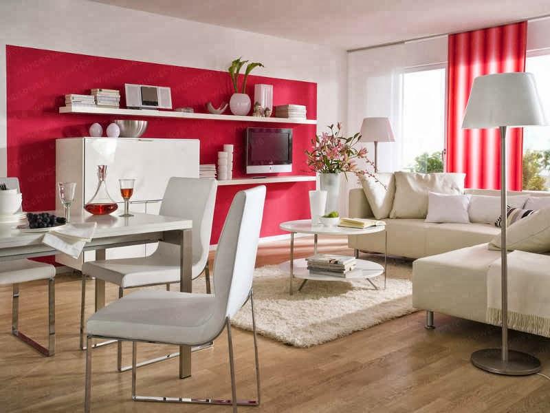 Salas de estar con comedor salas con estilo for Estar comedor disenos
