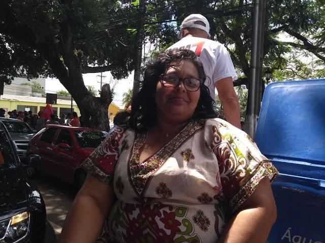 Cut e PTzada paralisam atividades e fazem ato contra a reforma da previdência em Rondônia