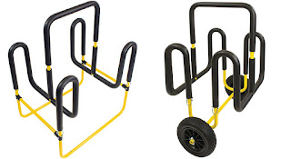 double paddleoboart cart and stand