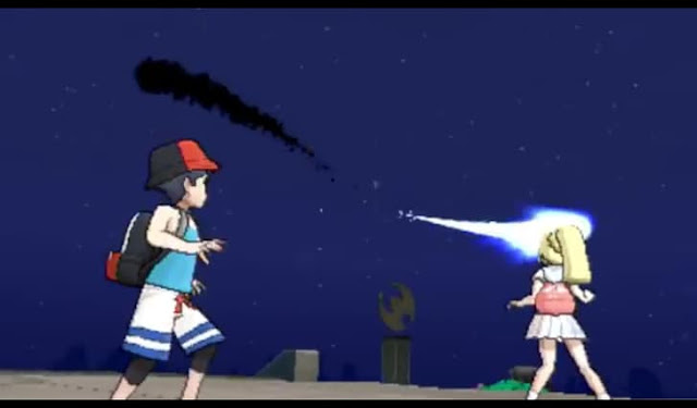 Third screenshot from Pokemon Sun and Moon English trailer
