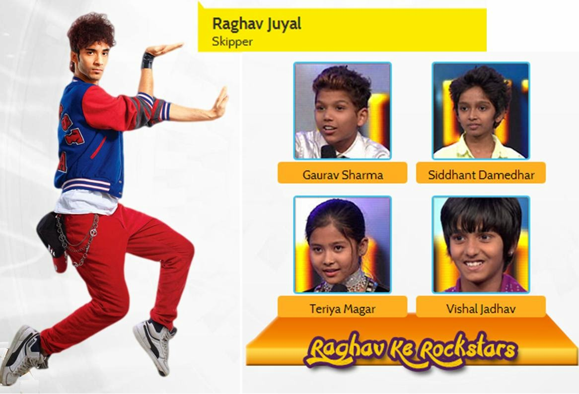 Raghav Ke Rockstars in DID Little Masters 2014