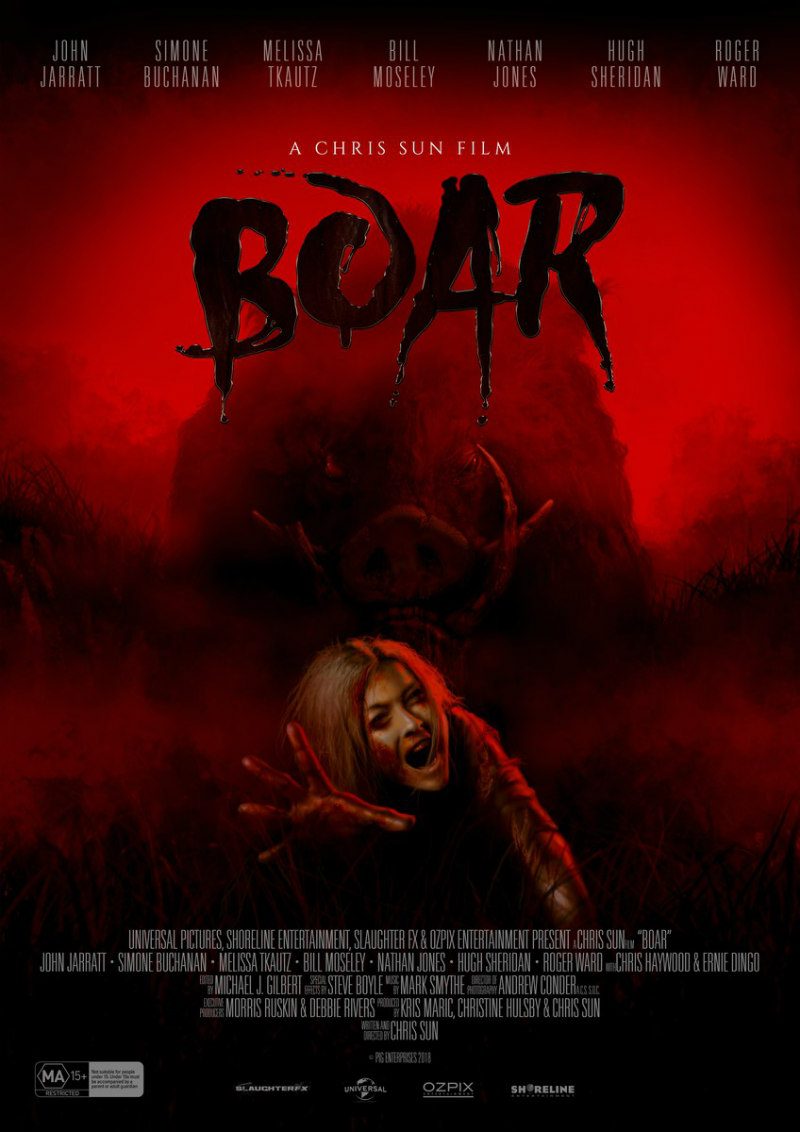 boar movie poster