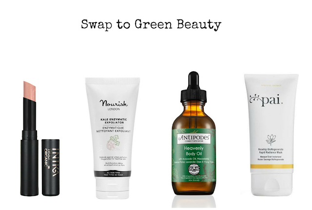 Swap clairns glossier palmers the body shop for green beauty alternatives