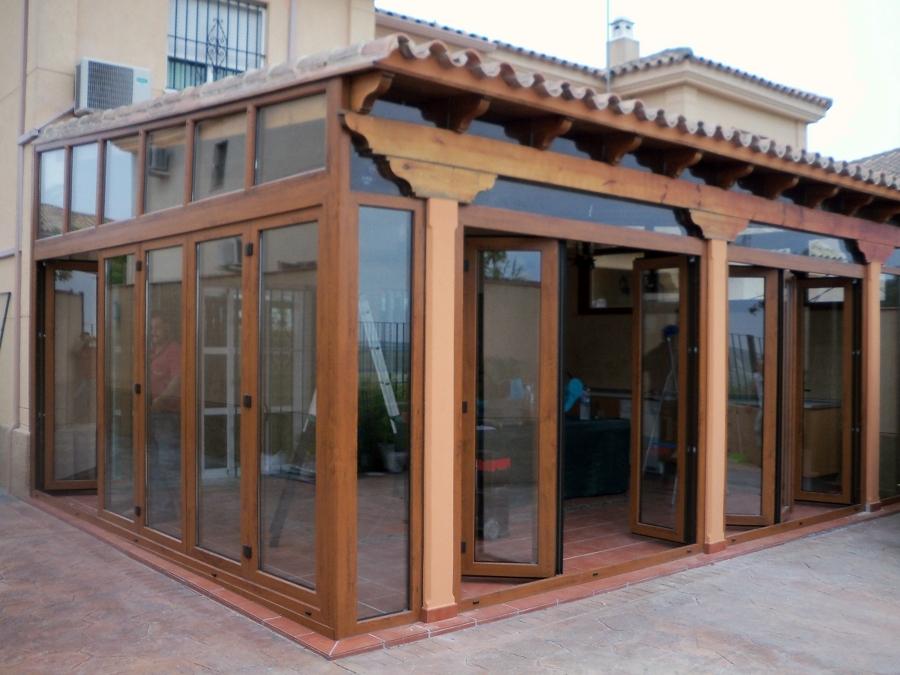 Cerramientos de terrazas en PVC. - Ventanas PVC Mallorca ...