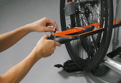 Kunci sepeda Double-Duty Bike Racks