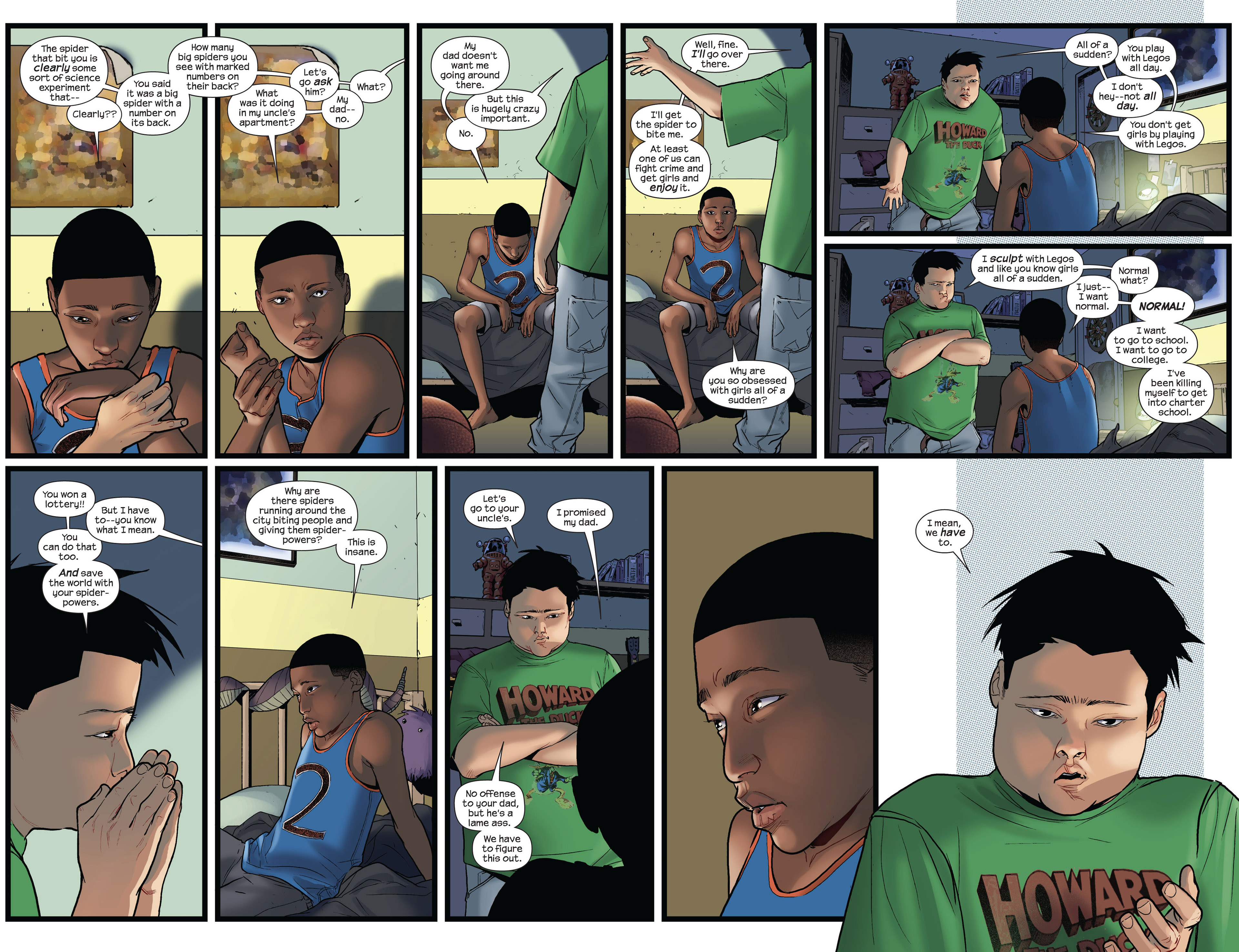 Read online Ultimate Comics Spider-Man (2011) comic -  Issue #3 - 5