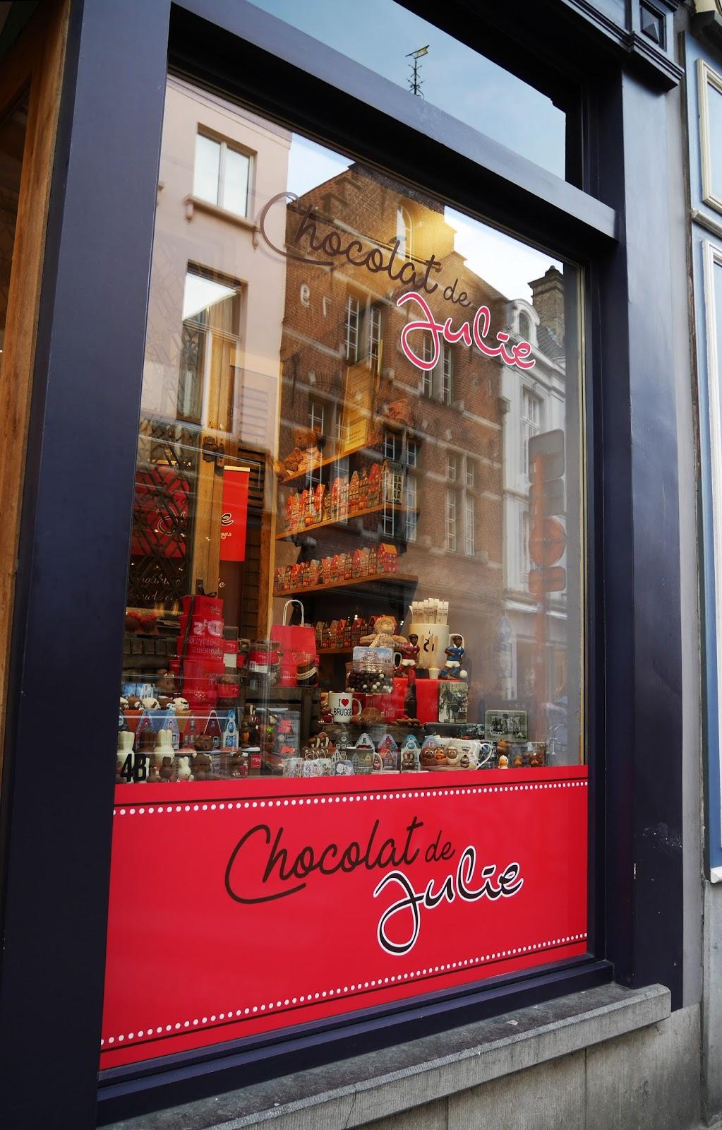 Belgian chocolatier Chocolat de Julie, Bruges