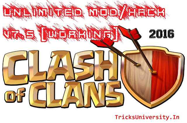 Hack CoC 100% working Get Unlimited Coins ,Gems, Power ups and all totally FREE ! NO SURVEY ! NO ADFLY !! Clash of Clans Unlimited! No Ban! 2016