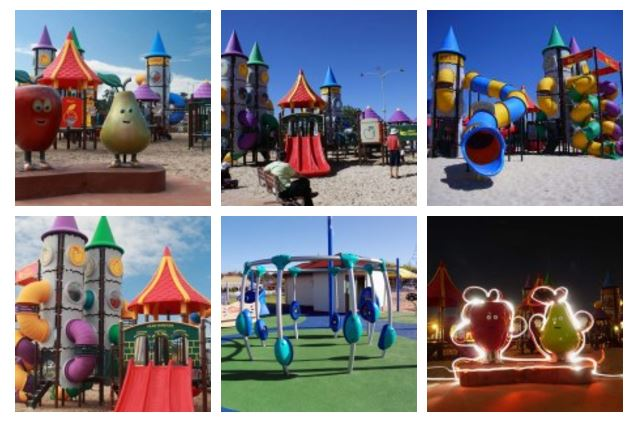 Donnybrook, Western Australia - giant playground