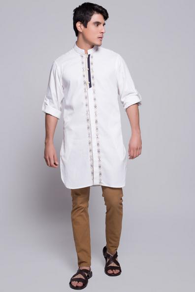 25  Baju Koko Rabbani Lengan Panjang Model Terbaru