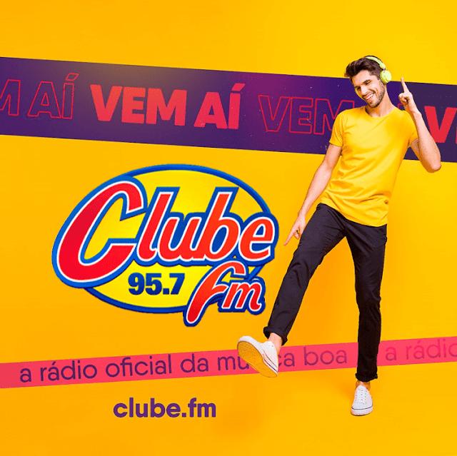 Rede Clube FM 95,7 está de volta à Goiânia