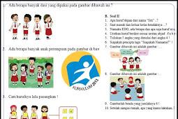 Soal PTS/UTS Kelas 1 SD Kurikulum2013 Revisi 2017
