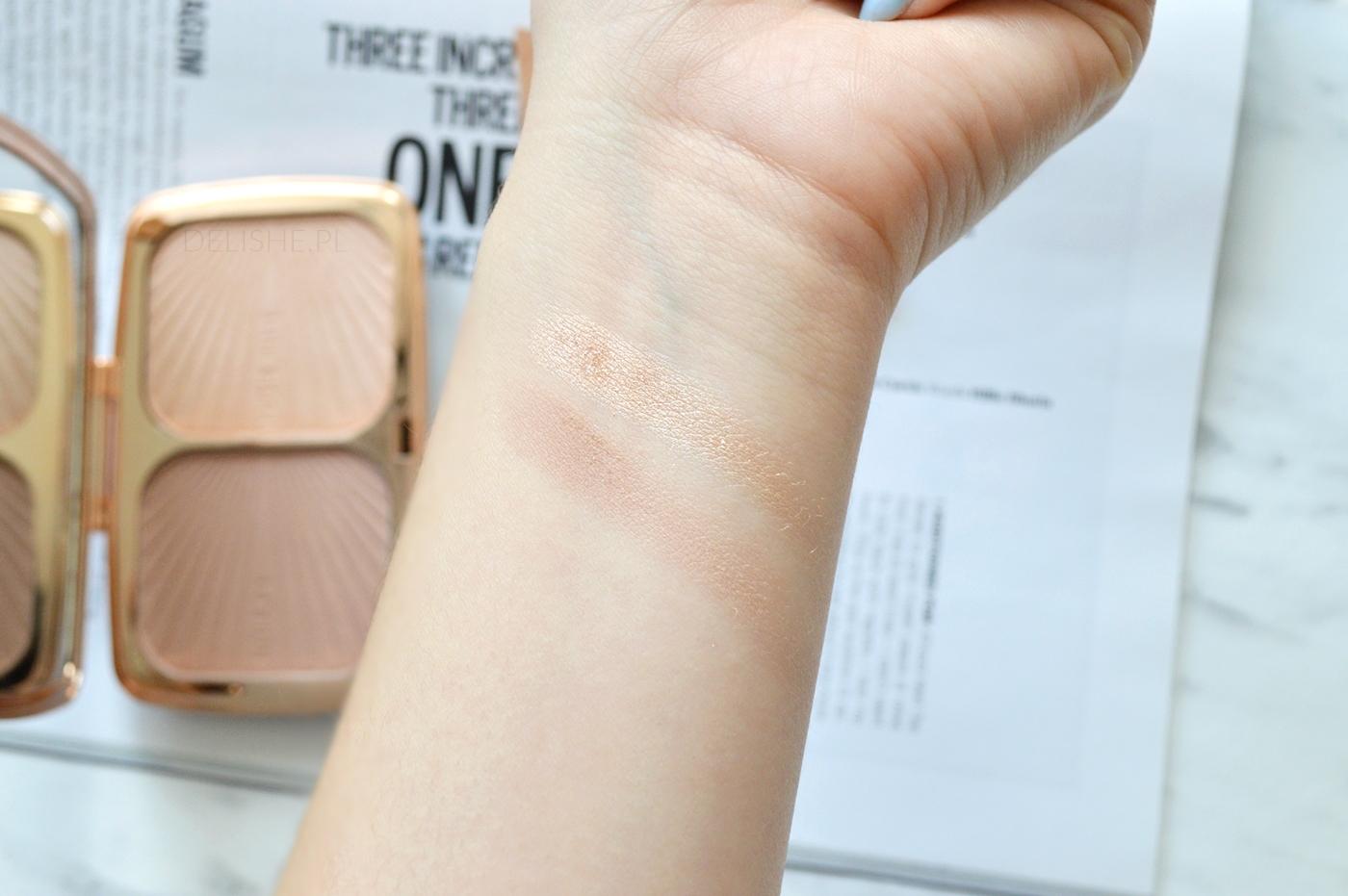 Renaissance Palette Glow Makeup Revolution swatche