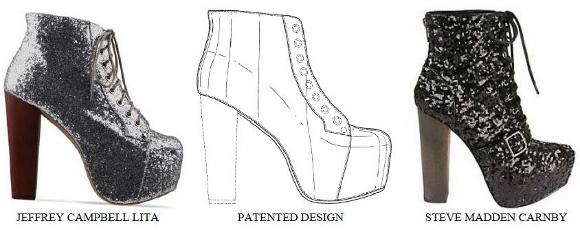 high heel template
