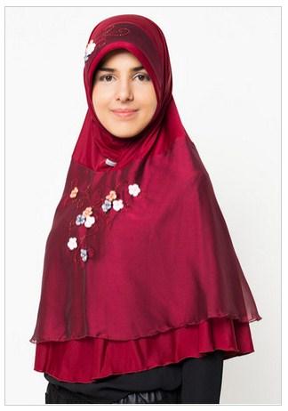 Kumpulan Gambar Jilbab Payet Terbaru 2016
