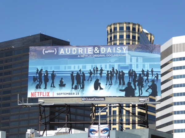 Audrie Daisy Netflix documentary billboard