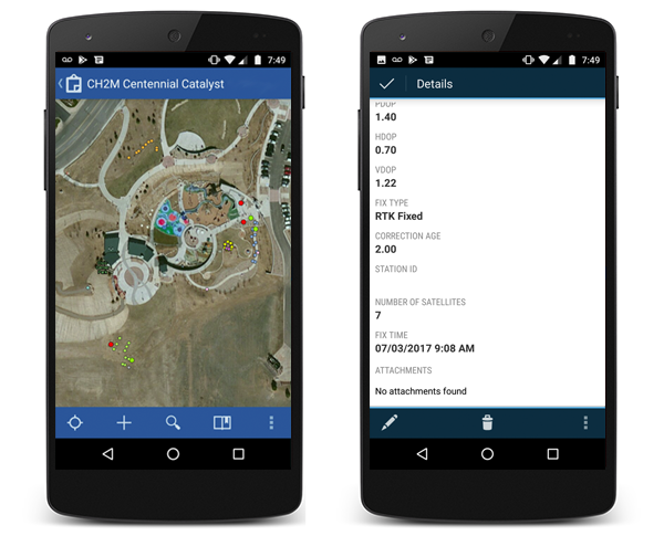 Collector for ArcGIS passe en 17 0 3 sur Android - arcOrama