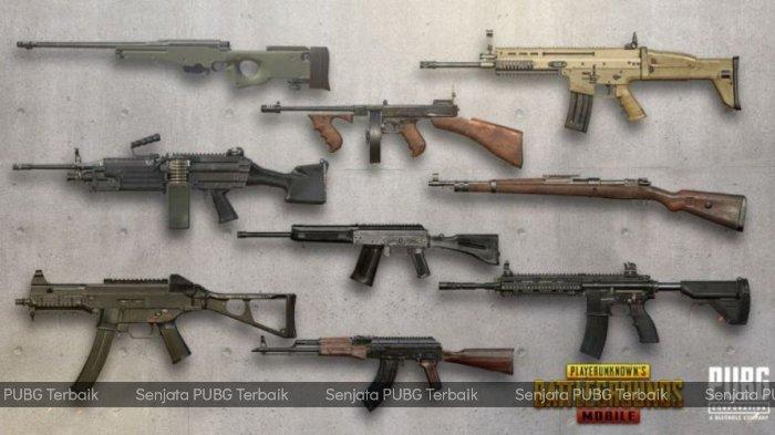 7+ Rekomendasi Senjata Game PUBG Paling Sakit dan Terbaik