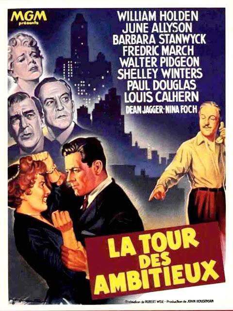 LA TORRE DE LOS AMBICIOSOS - Executive Suite (1954) castellano . vose