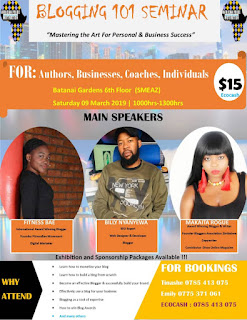 The First of its Own Blogging Seminar: Harare