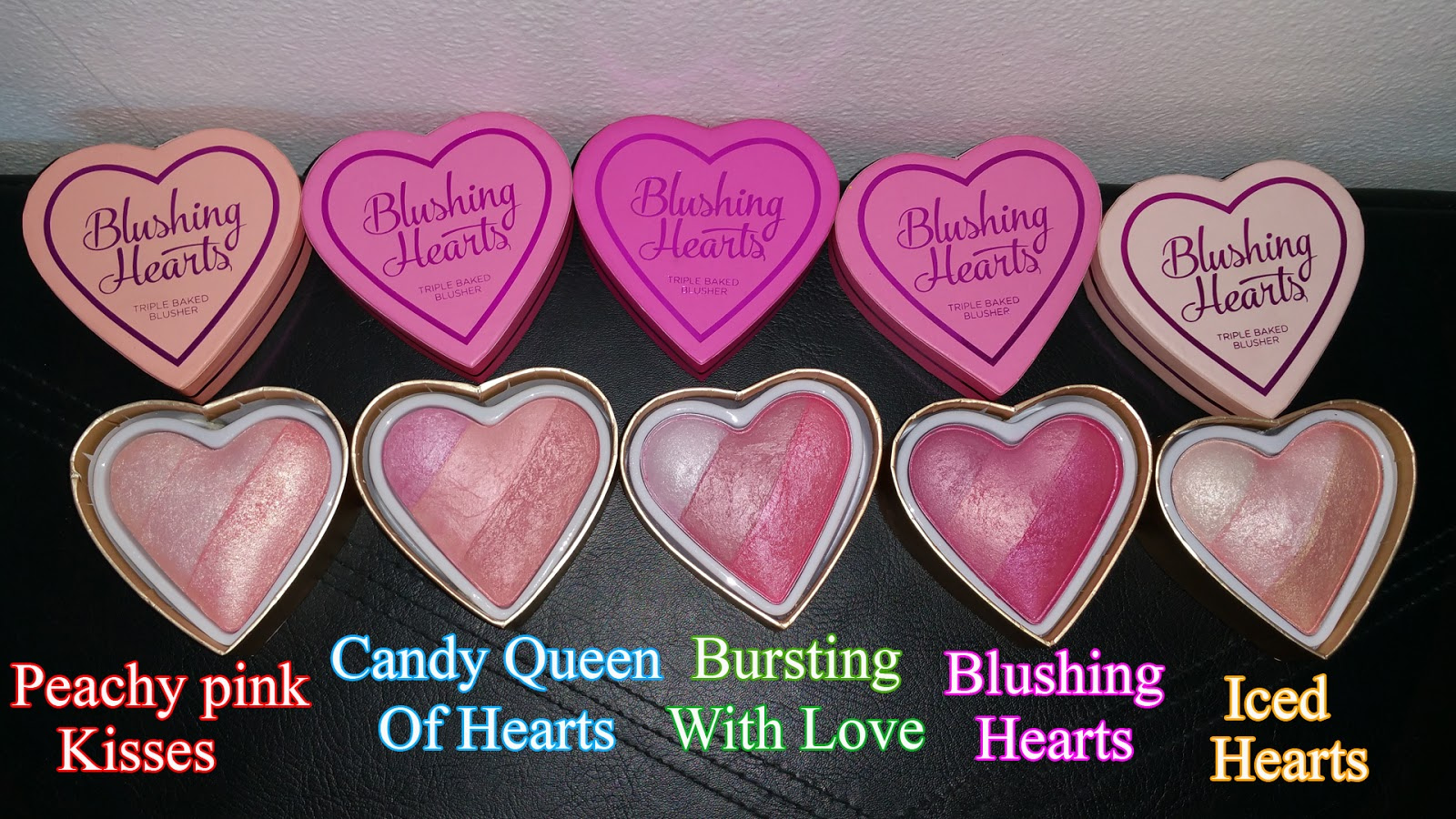 I ♡ Makeup Blushing Hearts Shopping District