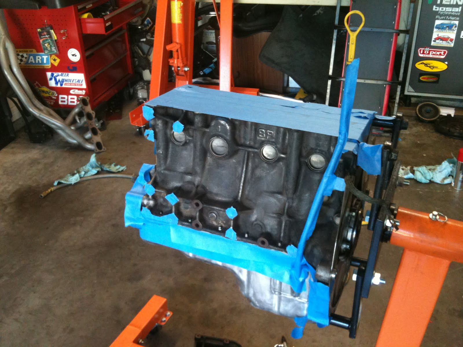 Morrison's Garage: Miata engine refurb stuff