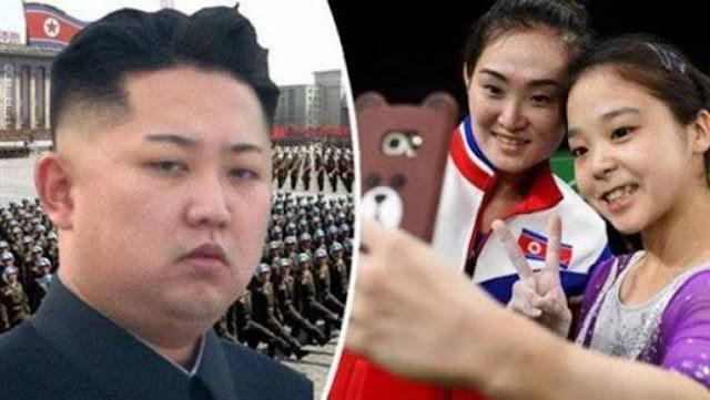 لاعبة جمباز كورية شمالية تواجه عقوبة الإعدام والسبب سيلفي! بسبب نشرها صورة السيلفي هذه ستعدم!