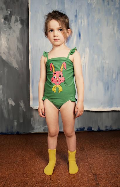 Bañador Conejo de Mini Rodini