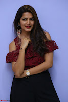 Pavani Gangireddy in Cute Black Skirt Maroon Top at 9 Movie Teaser Launch 5th May 2017  Exclusive 089.JPG
