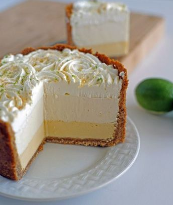 Triple Decker Key Lime Pie