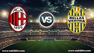 مشاهدة مباراة ميلان وهيلاس فيرونا hellas verona fc vs ac milan بث مباشر بتاريخ 17-12-2017 الدوري الايطالي