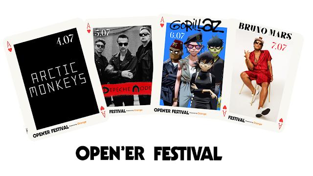 Arctic Monkeys, Open'er Festival 2018