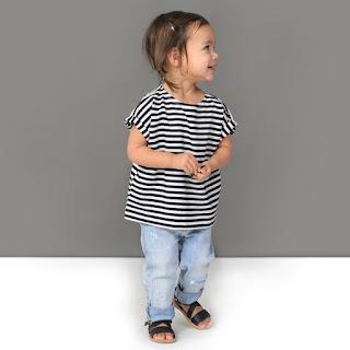 Krijtwit: leuke monochrome kinderkledij in belgie