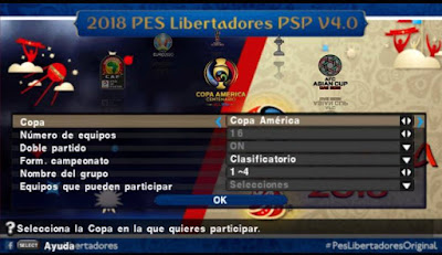 PES 2018 PPSPP Libertadores v4.0 World Cup 2018 Edition