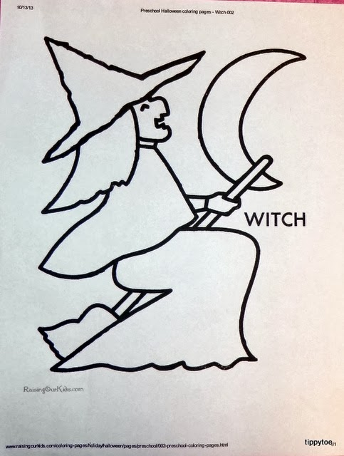 Tippytoe Crafts: Wickedly Cute Witches