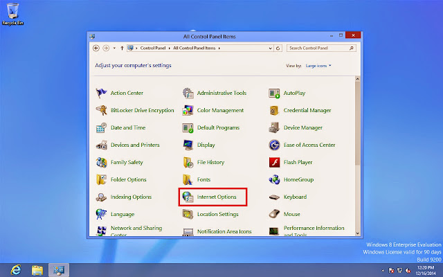 Cara setting VPN di Windows 8