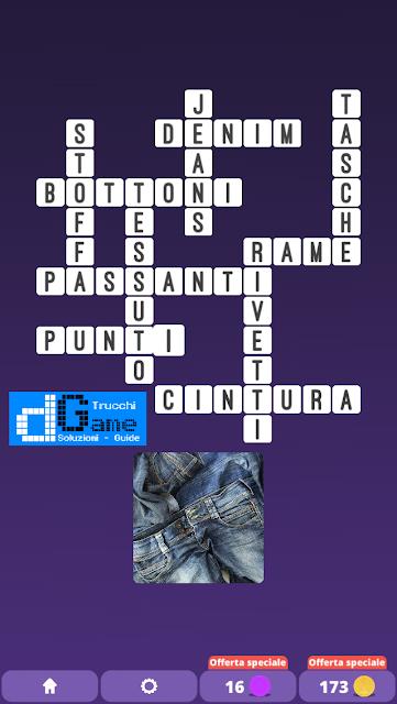 Soluzioni One Clue Crossword livello 21 schemi 7 (Cruciverba illustrato)  | Parole e foto
