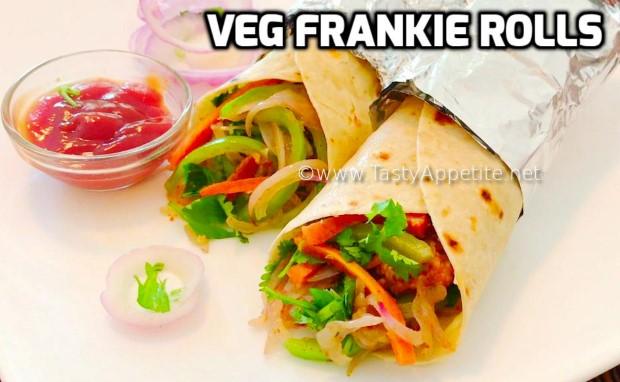 veg frankie rolls