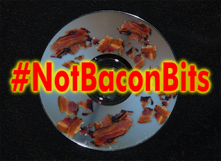 Cooked Bacon on a CD