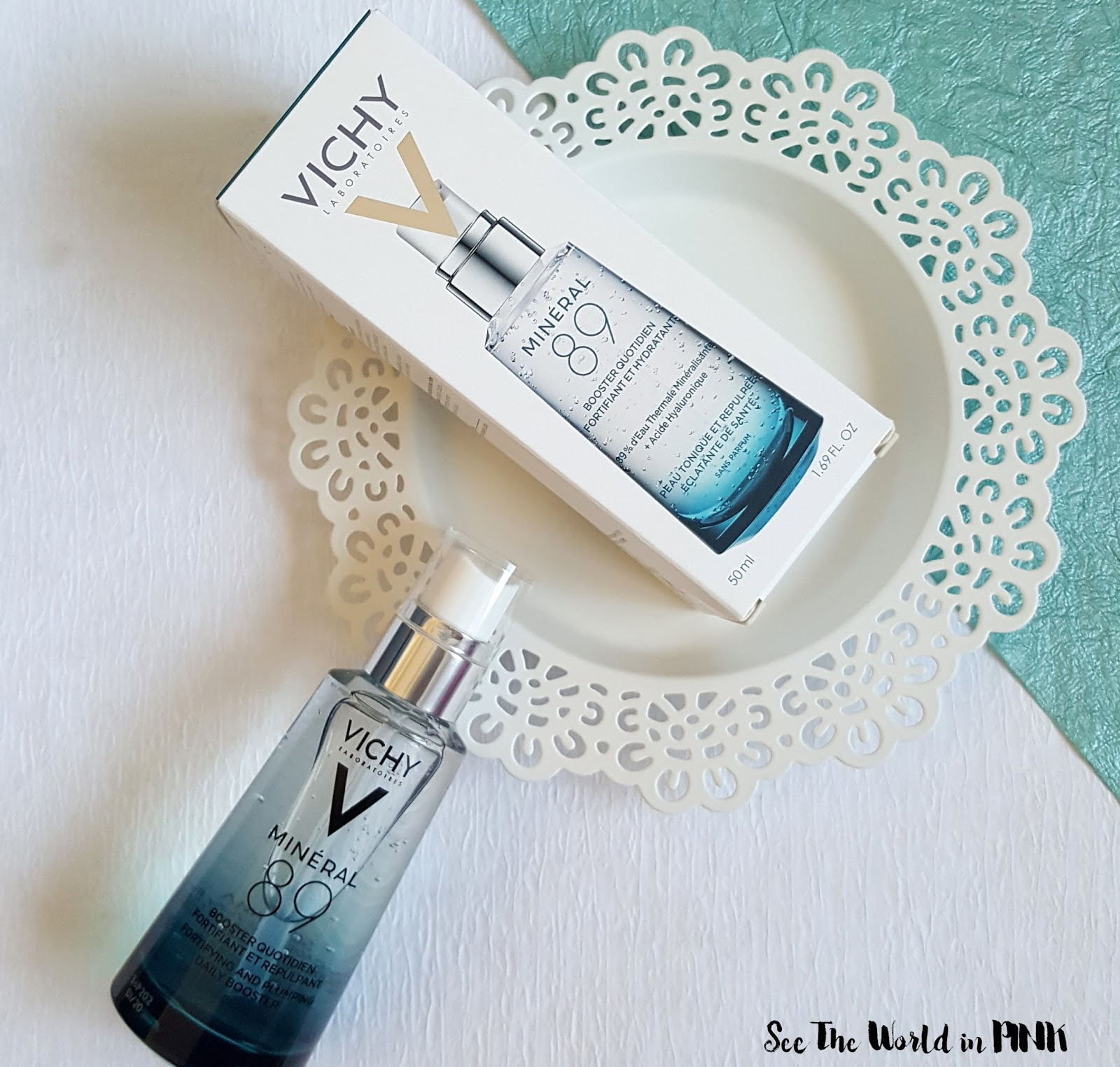 Skincare Sunday - Vichy Mineral 89 Fortifying Daily Skin Booster Review!
