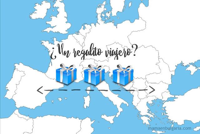 Regalos viajeros entre España y Bulgaria