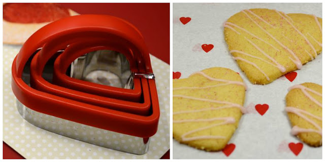 Heart Shape Cutters for Biscuits