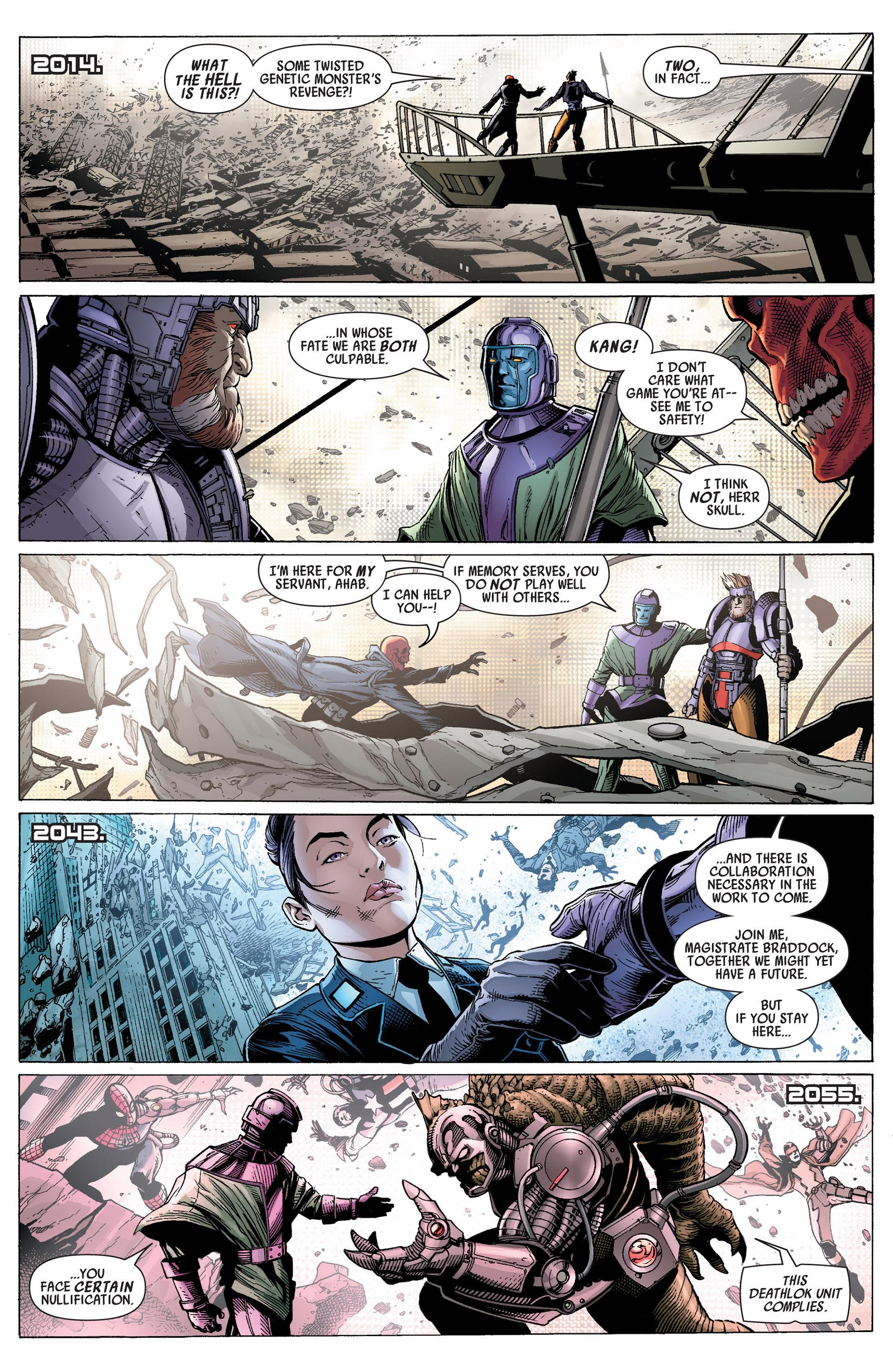 Read online Uncanny Avengers (2012) comic -  Issue #14 - 6