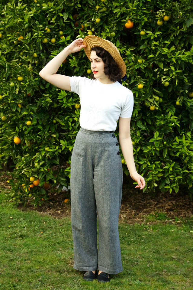 dear mr rabbit: outfit & review: Vivien of Holloway 1940's ...