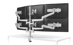 6 Screen Monitor Arm