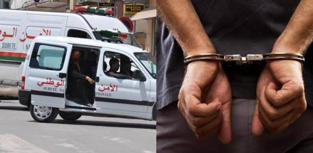 اعتقال شخص يحرض على ارتكاب اعتداءات جسدية في حق الأساتذة