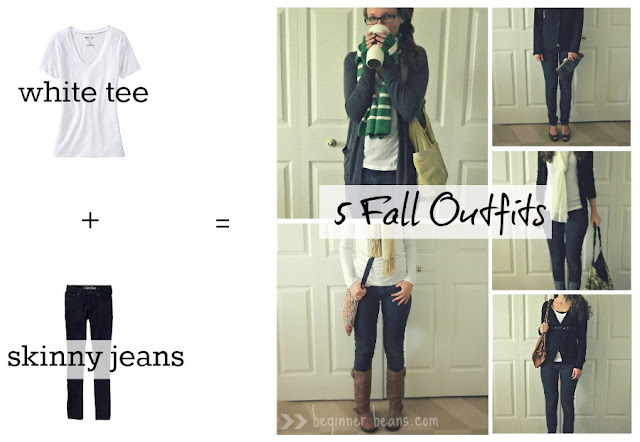simple fall season closet